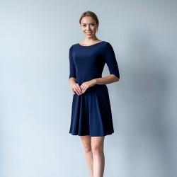 Těhotenské a kojící šaty Miracle tmavě modrá.