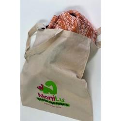 Klasická taška MoniLu s potiskem