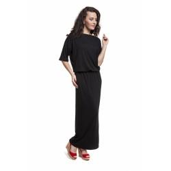 Těhotenské a kojící šaty Marta černá