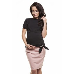 Těhotenská sukně RITA - pastelově růžová