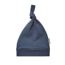 Kojenecká čepička - tmavě modrá