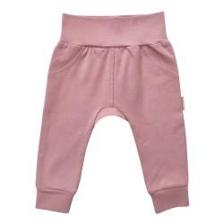 Kojenecké kalhoty - světle růžová