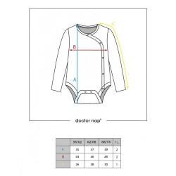 Kojenecké body s medvídky - BIO bavlna
