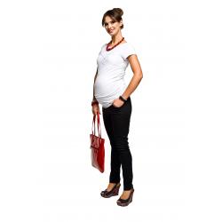 Těhotenská halenka Hearts - krátký rukáv
