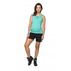Těhotenské kraťasy Fitness shorts