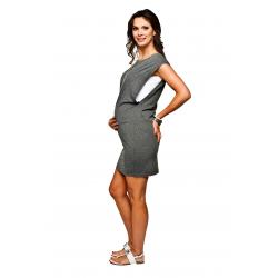 Těhotenské letní šaty Fluo pro kojení