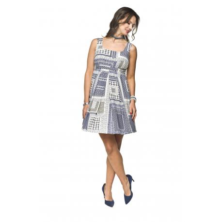 Těhotenské letní šaty Meri