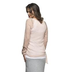 Těhotenský svetřík Soraja s mohérem