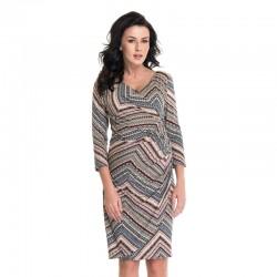 Těhotenské a kojící šaty Grace vzorované