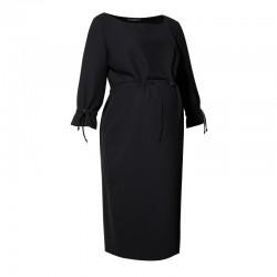 Těhotenské šaty ENEA černé
