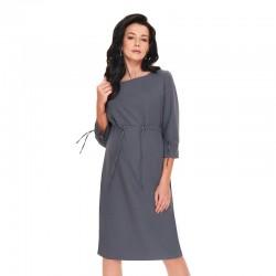 Těhotenské šaty ENEA šedé