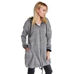 Těhotenský kabátek MERYNOS šedý 1a6634a56b