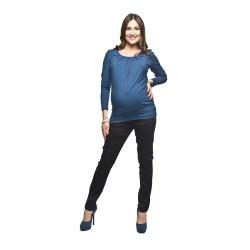 Těhotenské kalhoty Jarlo černé