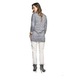 Těhotenské kalhoty Jarlo šedé