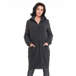 Těhotenský zimní kabátek Martinez antracit