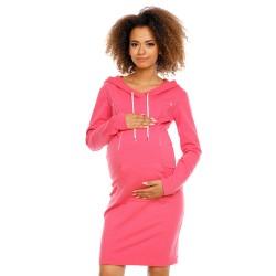 Těhotenská a kojící tunika Gamada fuchsie