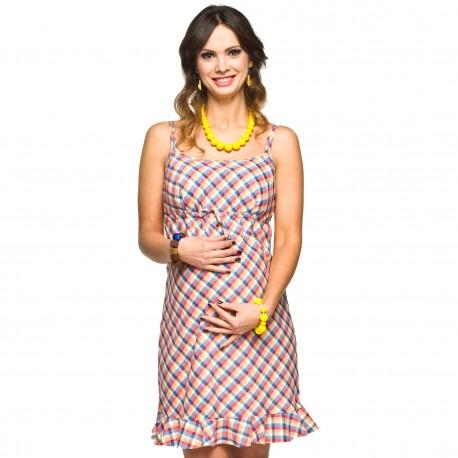 Letní těhotenské šaty Lija