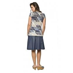 faa8acb4933 Těhotenská sukně Vena   Móda TaLeTi
