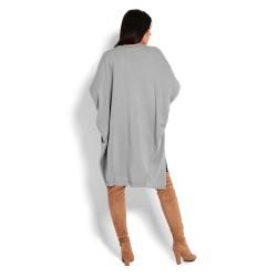 Těhotenský kardigan Ali šedý
