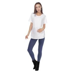 Těhotenské bavlněné leginy jeans