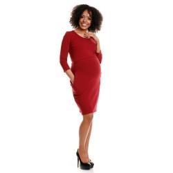 Těhotenské a kojící šaty Leila