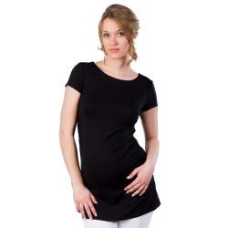 Těhotenská halenka Kaza černá
