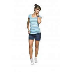Těhotenské kraťasy Jeans shorts