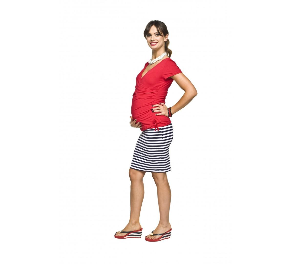 293232d1a42 Těhotenská sukně Ava   Móda TaLeTi