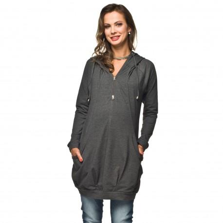Těhotenská a kojící tunika Leria