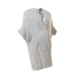 Těhotenský kabátek Renia šedý