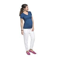 Těhotenská a kojící halenka Lea tmavě modrá