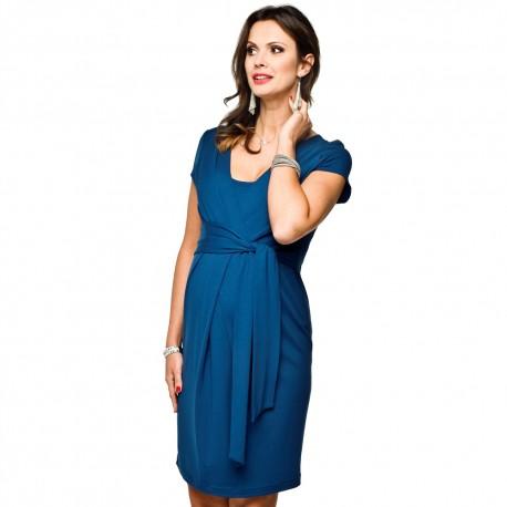 Těhotenské šaty Blufi indigo