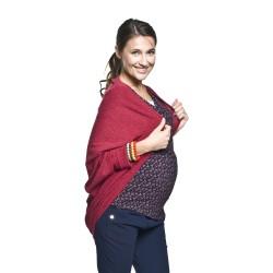 Těhotenský přehoz Etel bordó