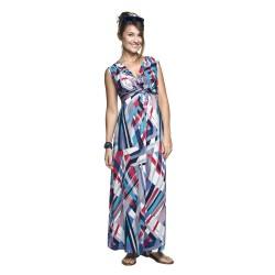 Těhotenské šaty Debora geometric