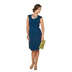 Těhotenské šaty Zurina indigo