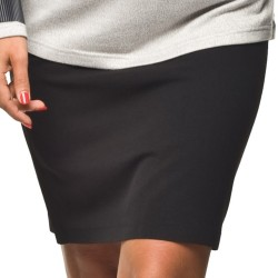 Těhotenská sukně Casual černá