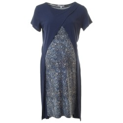 Těhotenské šaty Ivon modré
