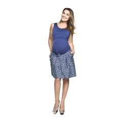Těhotenská sukně Nissi s potiskem