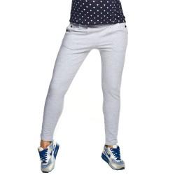 Těhotenské kalhoty Rodez šedá