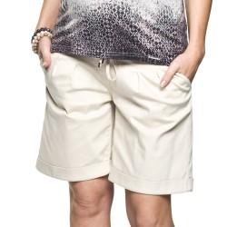 Elegantní těhotenské kraťasy Torreto béžová