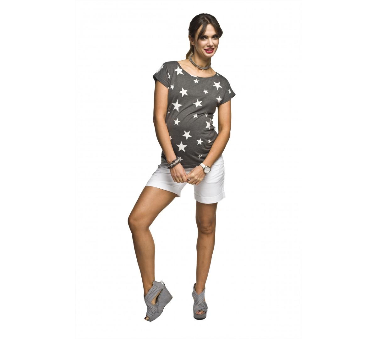 Těhotenské letní tričko Star