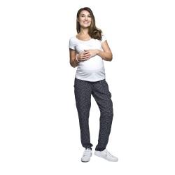 Těhotenské volnočasové kalhoty Daffy