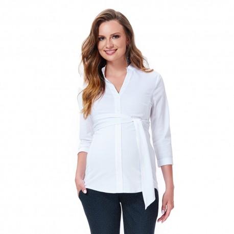 Těhotenská košile ORTO bílá