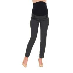 Těhotenské kalhoty Vecchio antracit