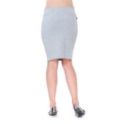Těhotenská sukně Vali šedá