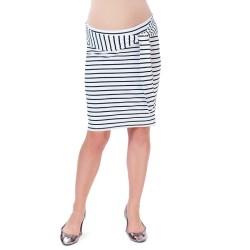 Těhotenská sukně Vali proužek