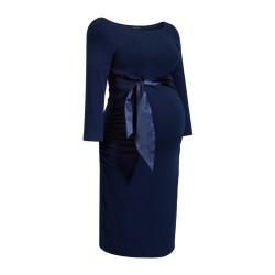 Těhotenské šaty Dacja New tmavě modré