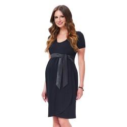 Těhotenské a kojící šaty Giulia černé