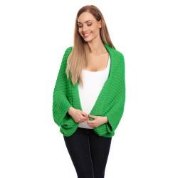 Těhotenský úpletový přehoz Kardi zelená