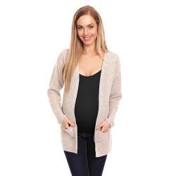 Těhotenský svetr Sofi krémový